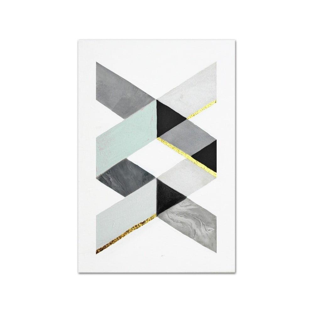 Nástenný ručne maľovaný obraz JohnsonStyle The DNA, 60 x 90 cm
