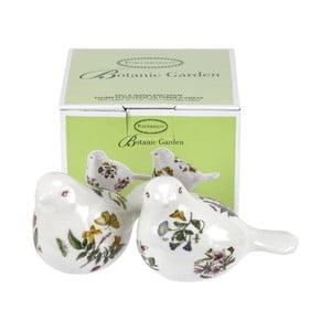 Porcelánový set solničky a koreničky v tvare vtákov Portmeirion
