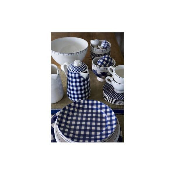 Sada 2 tanierov na cestoviny Sophie Stitch 30.5 cm, modrá