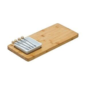 Doštička na servírovanie syra Premier Housewares Bamboo Snack