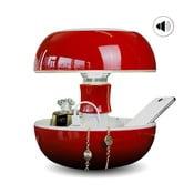 Stolná lampa, nabíjačka a reproduktor v jednom Joyo Classic, červená