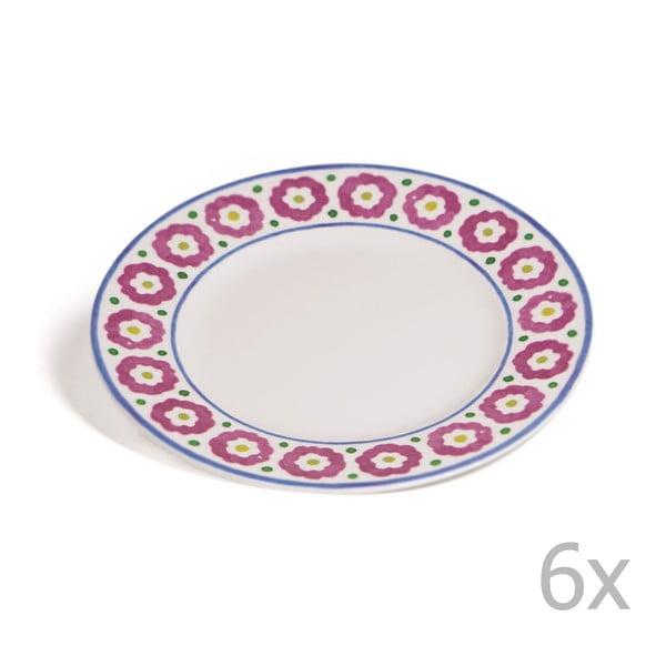 Sada 6 dezertných tanierov Toscana Monteriggioni, 21.5 cm