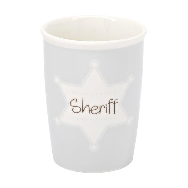 Menší cestovný hrnček Sheriff