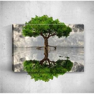 Nástenný 3D obraz Mosticx Big Tree, 40×60 cm