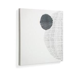 Biely obraz La Forma Prism, 50 × 50 cm