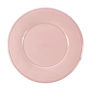 Ružový kameninový dezertný tanier Côté Table Constance, ⌀ 23,5 cm