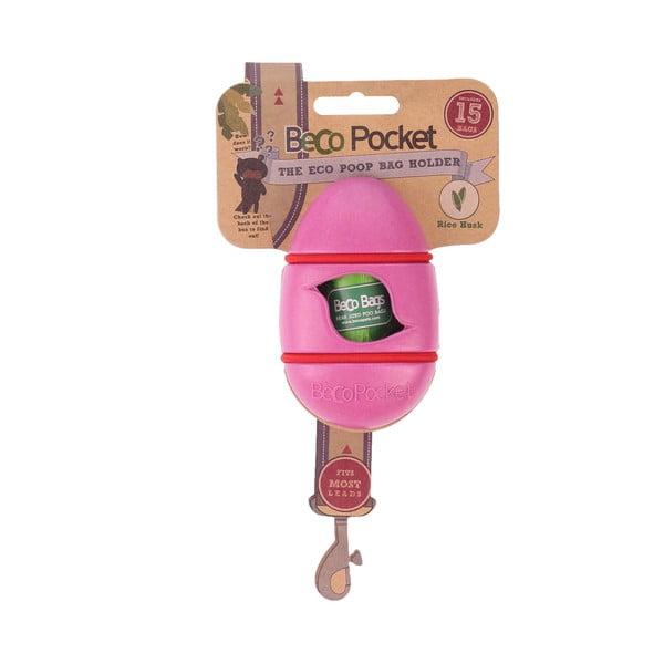 Vrecko na venčiace potreby Beco Pocket, ružové