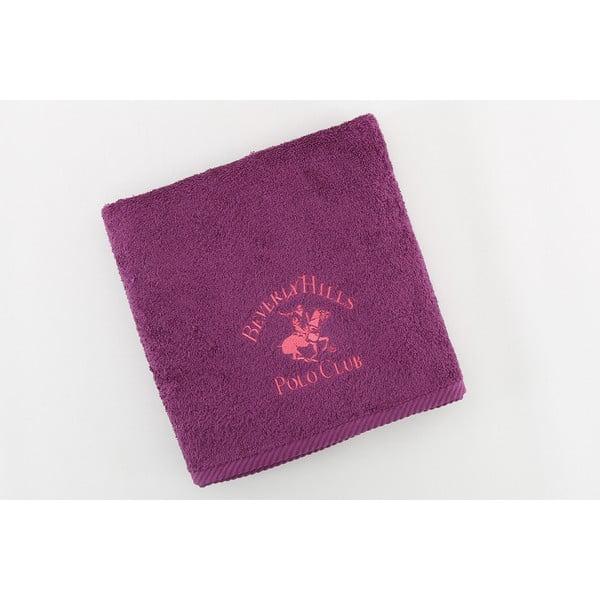 Bavlnený uterák BHPC 50x100 cm, fialovo-ružový