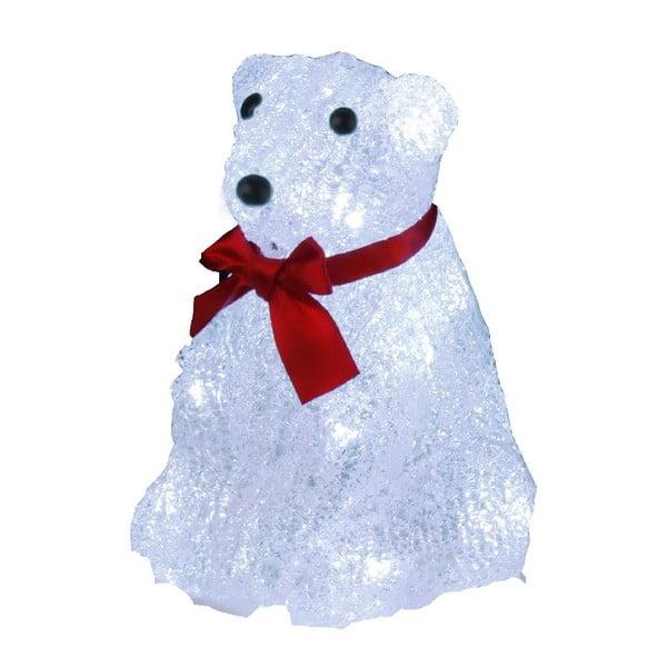 Svietiaca dekorácia Best Season Crystal Polarbear