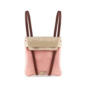 Kožený obojstranný batoh Maria/Maleta Lover
