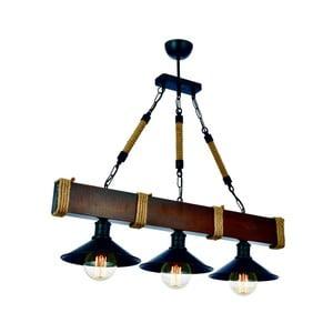 Závesné svietidlo z hrabového dreva Kütük Ceviz