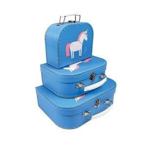 Sada 3 kufríkov různých velikostí Rex London Magical Unicorn