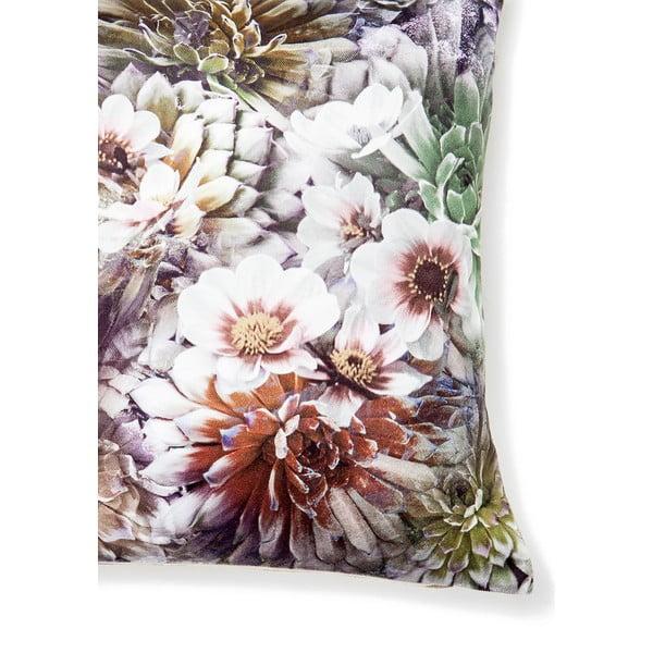 Vankúš Velvet Flowers, 40x40cm