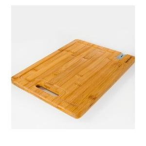 Bambusové doska na krájanie s brúskou, Livada, 33x25 cm