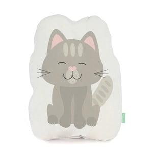 Vankúšik z čistej bavlny Happynois Kitty, 40×30 cm