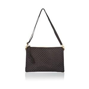 Čierna kožená kabelka Markes Tryphena