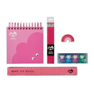Sada ružových školských potrieb TINC Mallo Jotter