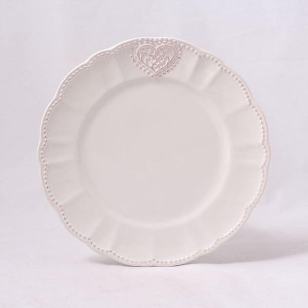 Kameninový tanier Dakls Heart, 20,6 cm