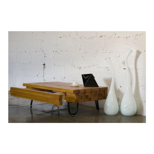 Konferenčný stolík so zásuvkou Coffee Gie, 95x60x30 cm