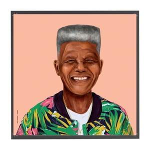 Obraz Fisura Nelson Mandela, 50x50cm