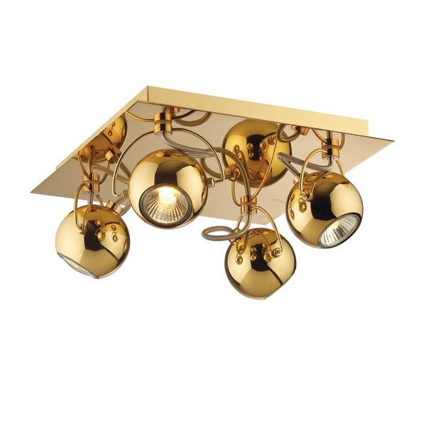 Nástenné/stropné svetlo Crido Four Point Gold