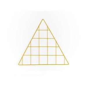 Žltá drôtená nástenka Really Nice Things Triangle Amarillo