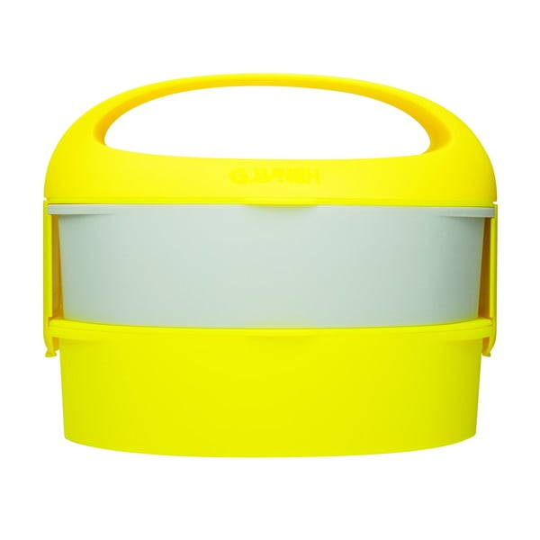 Desiatová krabička Bento G Lunch Yellow