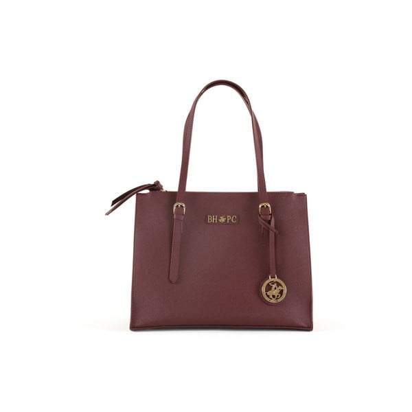 Kabelka Beverly Hills Polo Club 859 - Claret Red