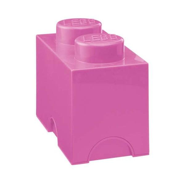 Úložné Lego, ružové