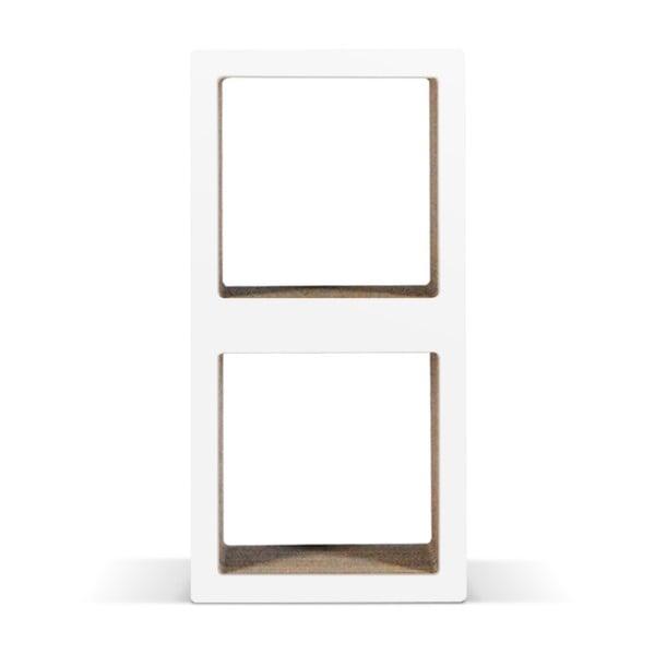 Malá kartónová knižnica Bit Due White