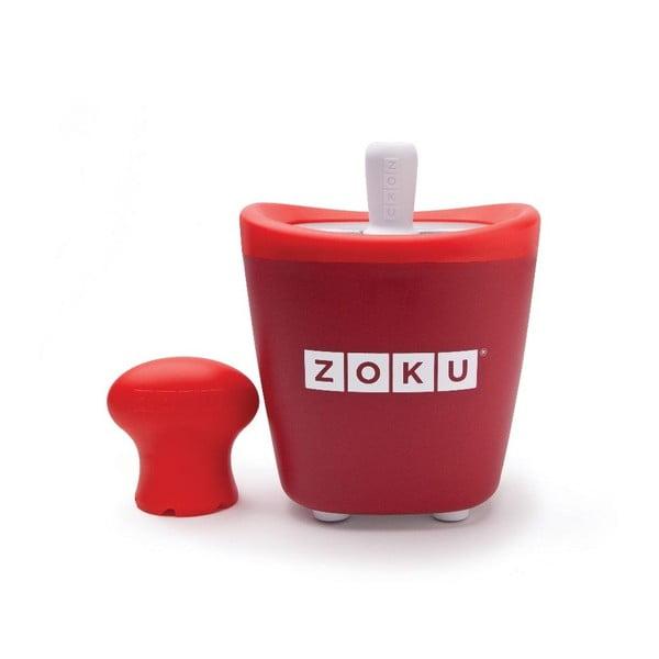 Červený zmrzlinovač Zoku Single
