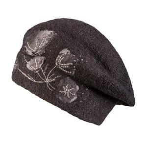 Čierna čiapka Lavaii Stella