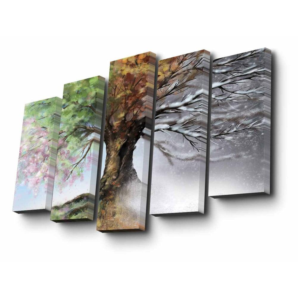 Viacdielny obraz Four Seasons, 82 × 50 cm