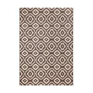 Hnedý koberec Schöngeist & Petersen Diamond Ornamental, 80 x 150 cm