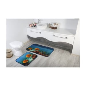 Sada 2 kúpeľnových predložiek Aksu Fish