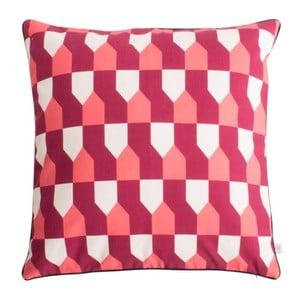 Červený vankúš z čistej bavlny HARTÔ Octavius, 50×50 cm