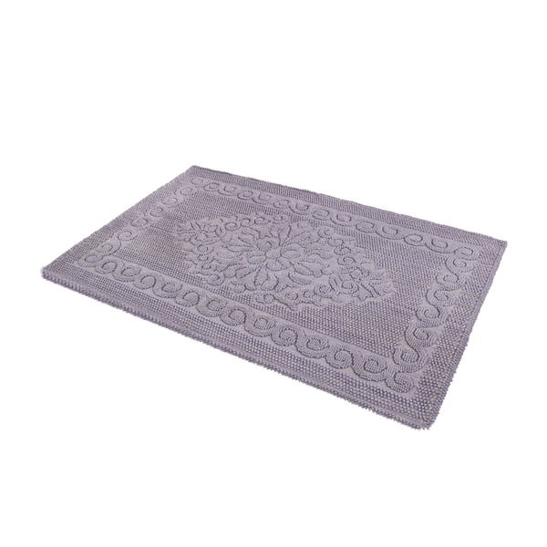 Predložka do kúpeľne Damask Grey, 60x100 cm