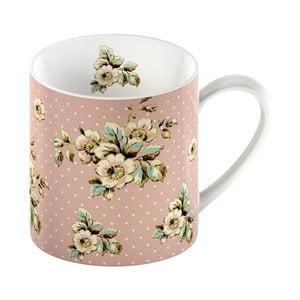 Ružový porcelánový hrnček Creative Tops Cottage Flower, 330 ml