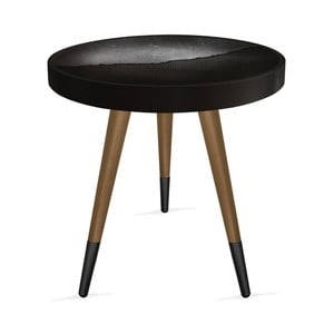 Príručný stolík Rassino Perforated Metal Circle, ⌀ 45 cm