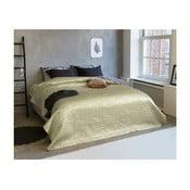 Pléd cez posteľ s odleskami na dvojlôžko Sleeptime Clara Satin, 260×250cm
