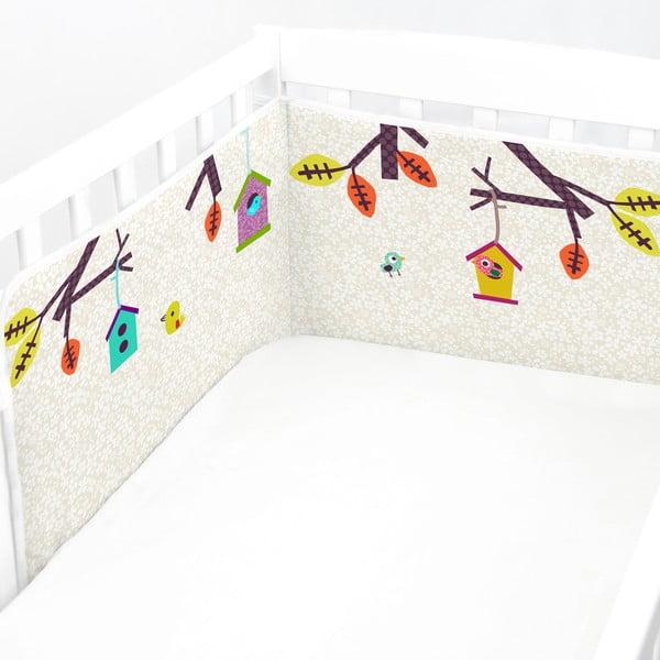 Výstelka do postieľky Sweet Home, 60x60x60 cm