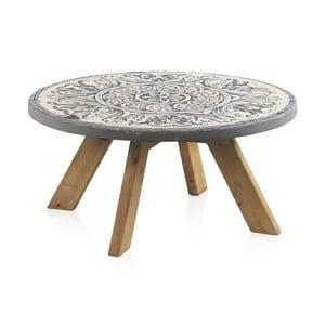 Konferenčný stolík Geese Concrete, ⌀ 78 cm