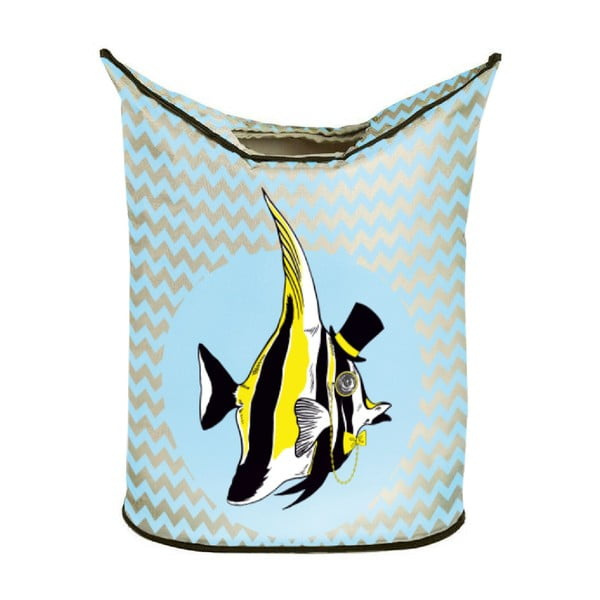 Kôš na bielizeň Yellow Fish