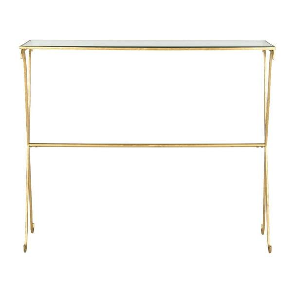 Konzolový stolík Lavar Gold