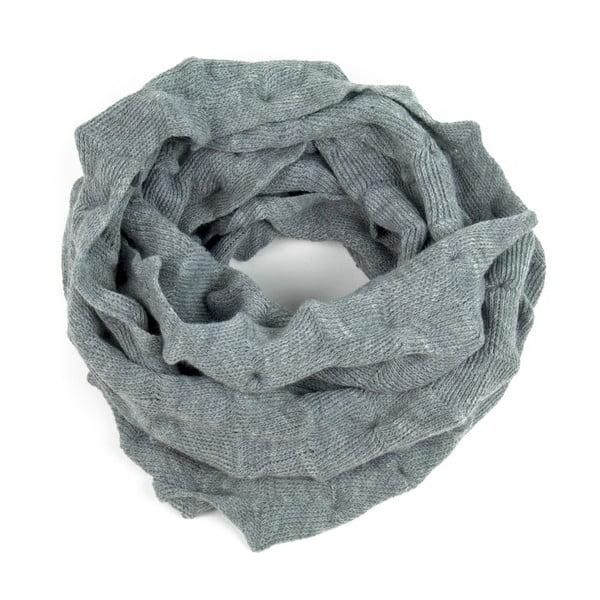 Kruhový šál Oli Dark Grey
