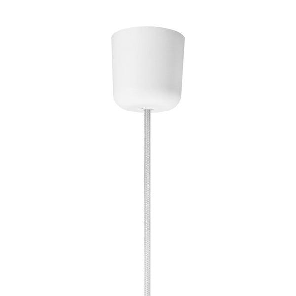 Biele závesné svietidlo Bulb Attack Tres, ⌀40cm