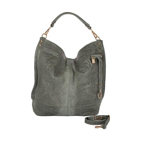 Sivá kabelka z pravej kože Andrea Cardone Edvige
