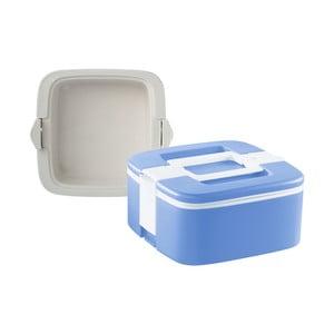 Modrý termo box na obed Enjoy, 0,75 l