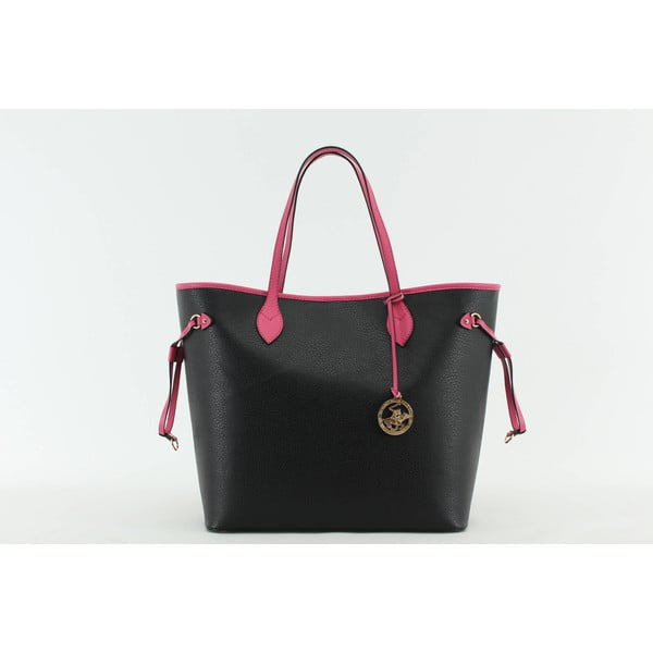 Kabelka Beverly Hills Polo Club 444 - Black/Fuchsia