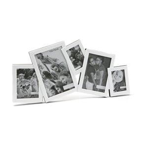 Biely rámček na 5 fotiek Versa Ventanas